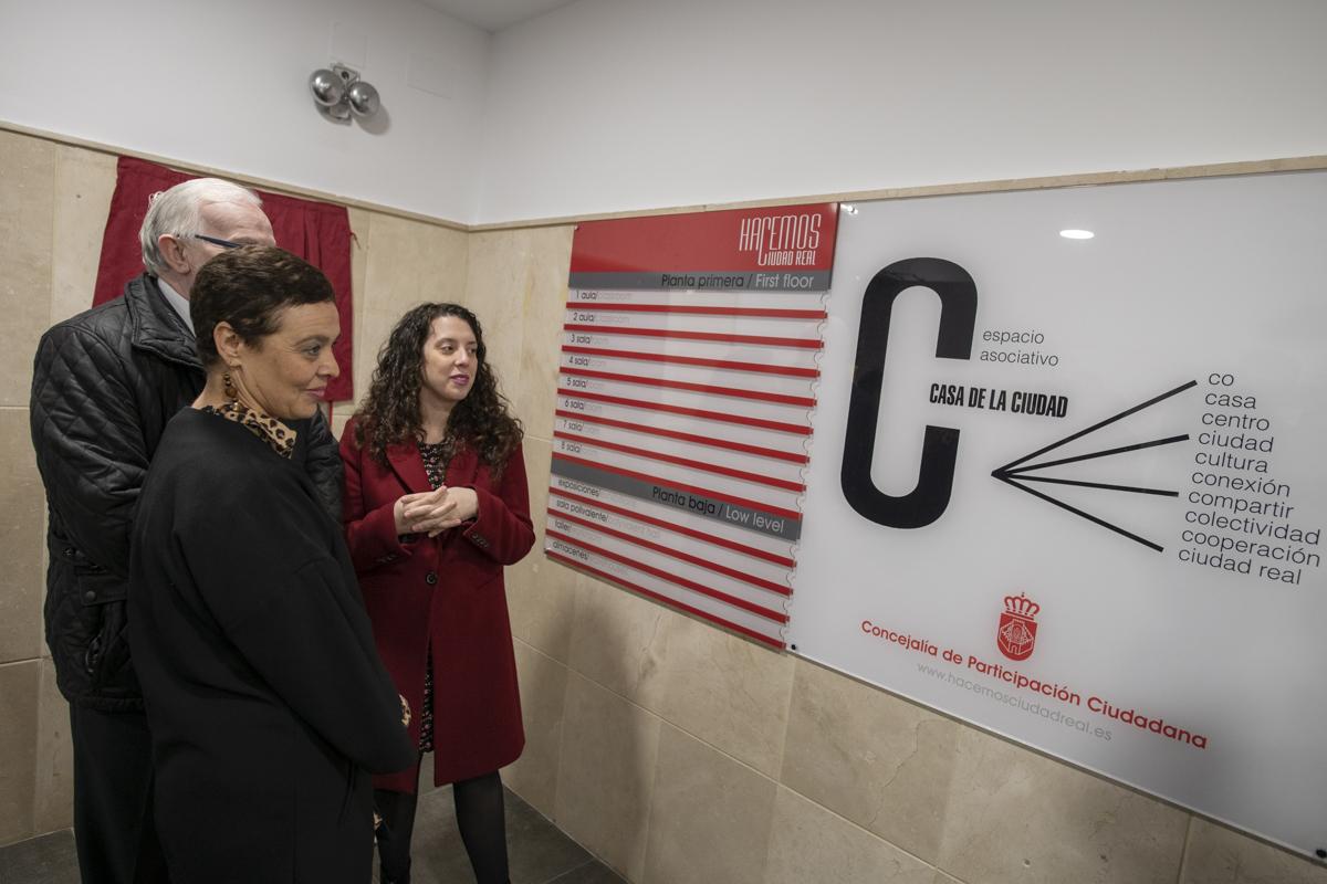 Inauguración Casa de la Ciudad y vehículo de participación 5