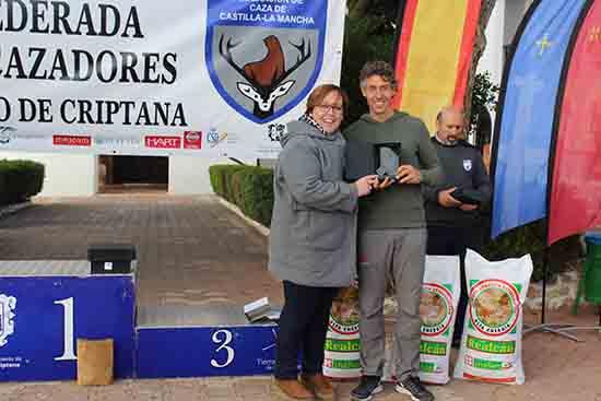 Olmedo-Entrega trofeos Cameponato de España de caza menor