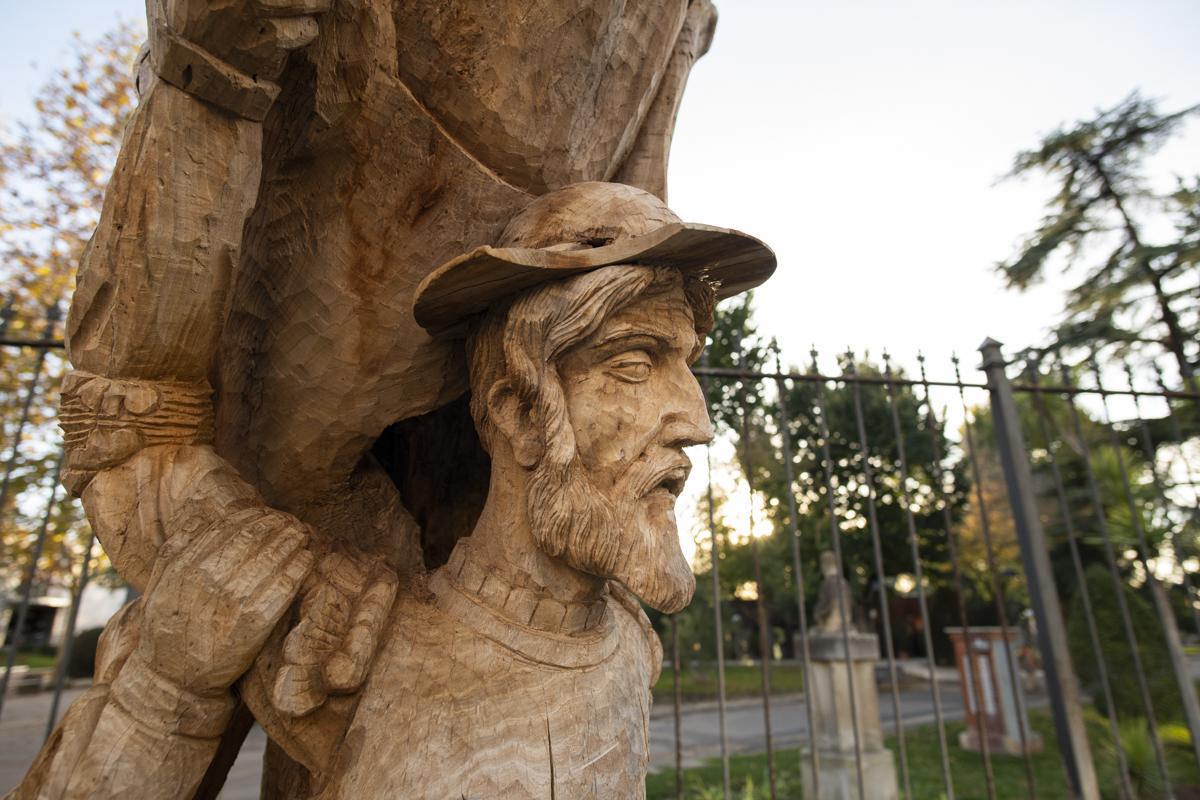 Olmo del Quijote del Parque de Gasset 1