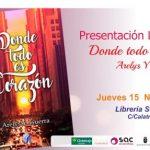 """Arelys Y. Guerra presenta este jueves en Serendipia su novela """"Donde todo es corazón"""""""