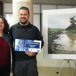 Pablo Rubén López Sanz se proclama ganador del primer premio del 6º Concurso de Pintura Rápida de Poblete
