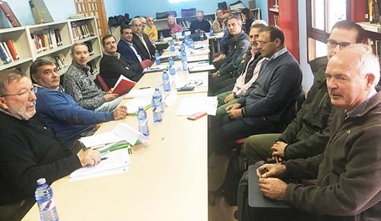 Reunion junta rectora Valle de Alcudia y Sierra Madrona
