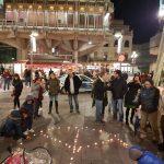 Ciudad Real: Un círculo de silencio para acallar el ruido de las armas
