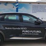El Hyundai Nexo recibe su primera recarga en el Centro Nacional Del Hidrógeno en Puertollano