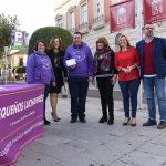 Jacinta Monroy entrega una ayuda de la Diputación a la Asociación 'Pequeños Prematuros' de Ciudad Real con motivo de su campaña de información y sensibilización