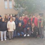 Un grupo de personas del Centro de Día de la asociación ciudadrealeña Fuensanta visitaron Porzuna