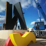 20 toneladas rendirán homenaje a España y conmemorarán 40 años de democracia en Valdepeñas