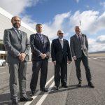 El Aeropuerto de Ciudad Real espera abrir antes de mayo y centra su negocio en mantenimiento, logística y formación