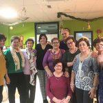Los usuarios del Centro de Mayores de Almodóvar celebran la Navidad