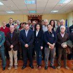 Calzada de Calatrava celebra el 40 Aniversario de la Constitución Española con los alcaldes democráticos y unos 300 escolares