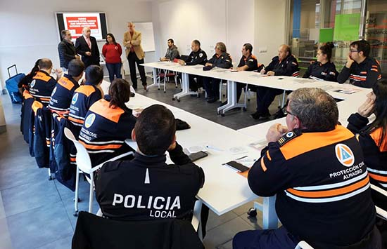 Francisco Perez Alonso en curso Proteccion Civil