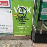 Ciudad Real: VOX denuncia nuevas pintadas junto a su sede