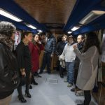 Ciudad Real: Ganemos aparca la polémica con ironía, proponiendo otro vagón cultural