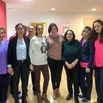 El coro parroquial 'Los Pastores' cantó villancicos a los usuarios de la Residencia 'El Pinar' de Almodóvar
