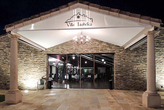 Restaurante 'Villa Isabelica' en Alda del Rey
