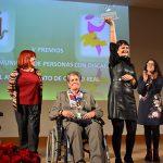 Nieves Adán y AEDEM, galardonados con losV Premios a la Labor a favor de Personascon Discapacidad de Ciudad Real