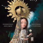 """""""Notre Dame de la Paix"""", de Jesús García Moreno, cartel anunciador de Las Paces 2019 de Villarta de San Juan, Fiesta de Interés Turístico Regional"""