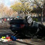 Ciudad Real: Vuelca un vehículo en la Avenida del Ferrocarril