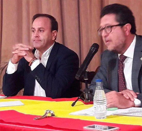 Casimiro Molina Flox y Francisco Serrano