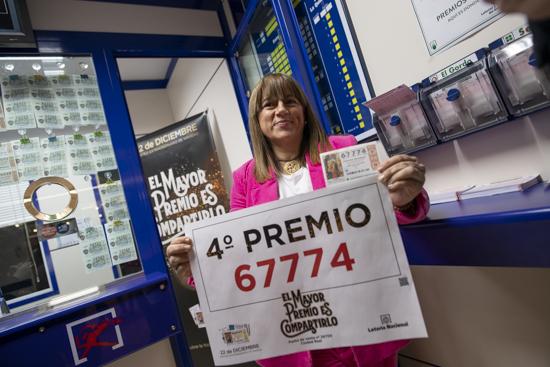 Ciudad Real: Un décimo de uno de los cuartos premios de la ...