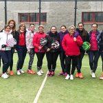 Adela del Rey: Estefanía Gavilán y Ángela Blanco se hicieron con el Torneo de Pádel femenino de Navidad