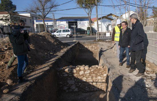vestigios muralla ciudad real zona plaza de toros - 2