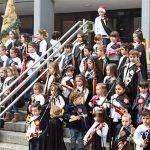 Puertollano: Los escolares del Gonzalo de Berceo cantan por Navidad