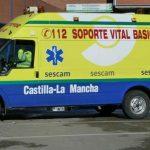 Una niña de 8 años, trasladada al hospital 'Niño Jesús' de Madrid tras el choque de dos turismos en Valdepeñas
