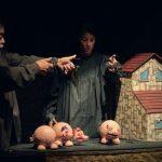 Este domingo, 'Los tres Cerditos' en el Teatro de la Sensación