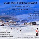Ciudad Real: Abierto el plazo de inscripción para el viaje  del PMD a esquiar en Sierra Nevada