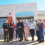 Puertollano: La directora provincial de bienestar social conoce la actividad formativa e integradora de Aisdi