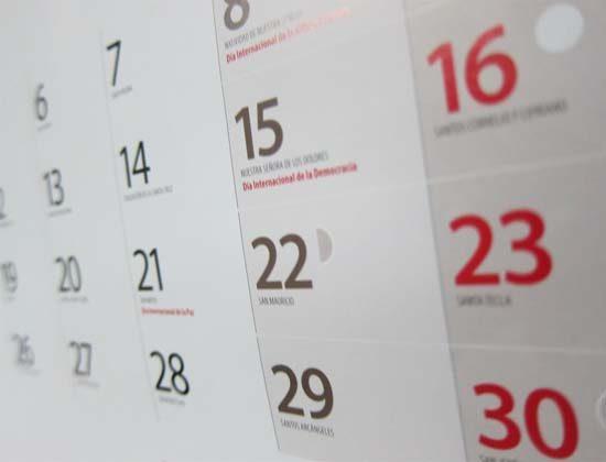 Calendario Real Madrid Abril 2020.Castilla La Mancha Aprueba Su Calendario Laboral Para 2020