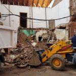 Puertollano: Demolido el viejo estanco de la calle Calzada