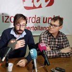 IU exige la «expulsión inmediata» de los concejales del PP condenados por prevaricación en Almodóvar