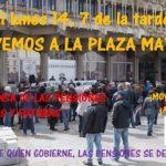 Ciudad Real: Vuelven las concentraciones en defensa de las pensiones