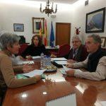 Miembros de la Plataforma del Torreón se reúnen con la subdelegada del Gobierno