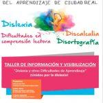 DIXCR organiza un taller de visibilización de la dislexia y otras dificultades específicas del aprendizaje