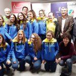 El Gobierno de Castilla-La Mancha felicita a las chicas del Club Natación Alarcos de Ciudad Real por su participación en la Copa de España
