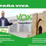 Vox evoca el espíritu de Vistalegre para su presentación en el Paraninfo Luis Arroyo de la UCLM en Ciudad Real