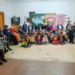 Los alumnos del 'Maestro Navas' compartieron el Día de la Enseñanza con los mayores de la Residencia de Aldea del Rey