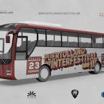 Diez servicios de bus urbano funcionarán cada hora durante el Puertollano Winter Festival