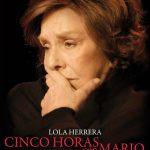 Repsol trae a Puertollano «Cinco horas con Mario», protagonizada por Lola Herrera