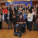 El PP rinde homenaje a sus concejales de los cuarenta años de democracia