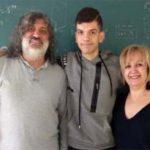 Alonso Cristian Andrés Córdoba, alumno del IES Dámaso Alonso, representará a C-LM en la Olimpiada Matemática Española