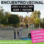 Organizan un encuentro vecinal en apoyo a personas acosadas y maltratadas de Puertollano