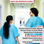 """Jornada de CCOO-Sanidad CLM """"Cualificaciones y clasificación profesional en el sector sanitario"""""""