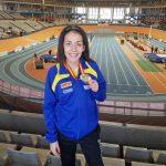 La puertollanera Marina Lobato se proclama subcampeona absoluta de España en triple salto
