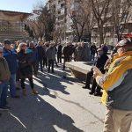 """Pensionistas de Puertollano protestan contra la """"inocentada"""" del decreto de revalorización"""