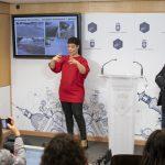 Pilar Zamora presenta dos nuevas peatonalizaciones en el centro de Ciudad Real