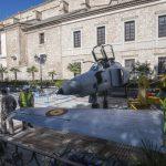 Ciudad Real: Las aeronaves del Ejército del Aire despliegan sus alas en los Jardines del Prado